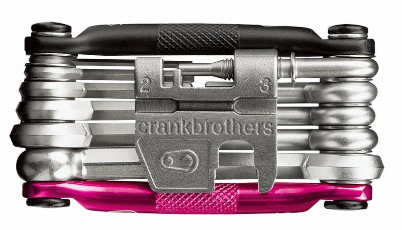 CRANK BROTHERS(クランクブラザーズ)マルチ-17 ブラック/ピンク