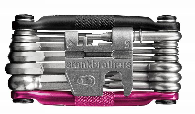 CRANK BROTHERS(クランクブラザーズ)マルチ-19 ブラック/ピンク