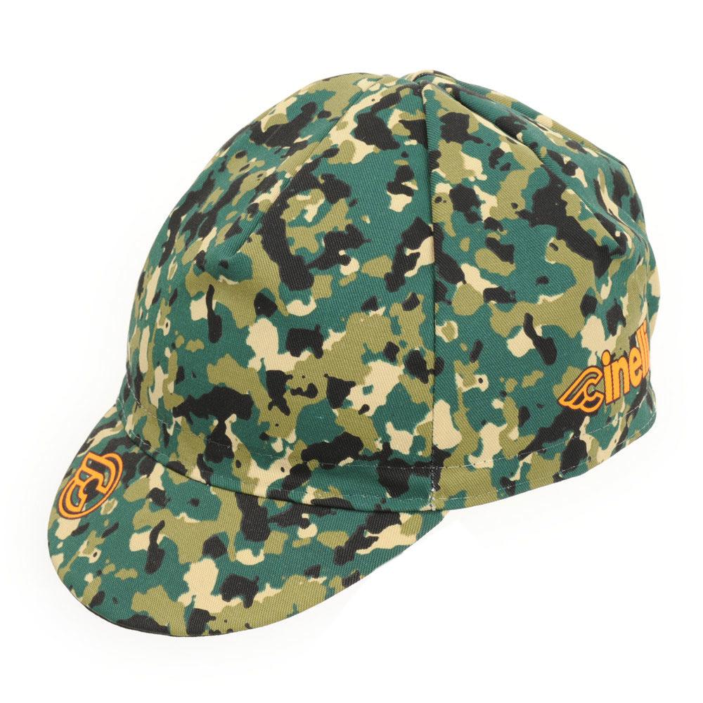 CINELLI 17 CORK CAMO CAP {GRN}