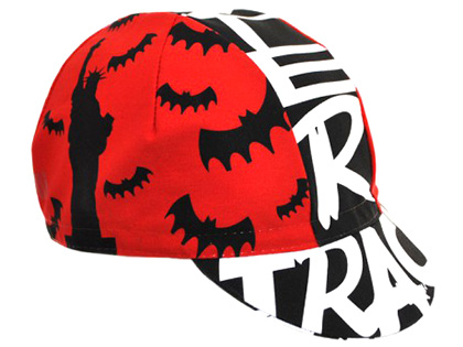 CINELLI 17 MONSTER TRACK CAP {RED}