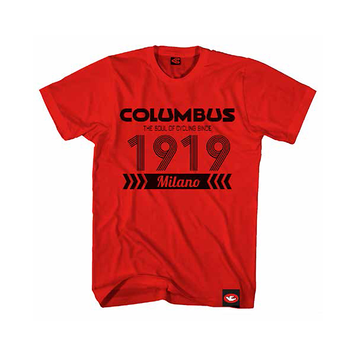 COLUMBUS 1919 RED T-SHIRT
