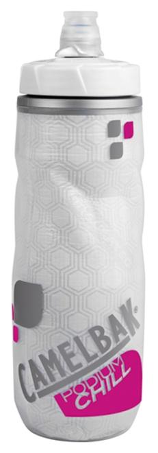 CAMELBAK(キャメルバック)ポディウムチルボトル クリア/パープル 0.61L