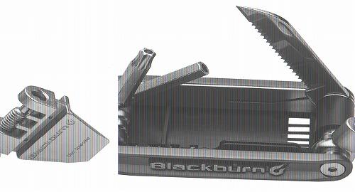 BLACKBURN(ブラックバーン)ウェイサイドマルチツール ブラック