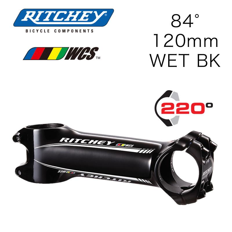 RITCHEY(リッチー)WCS C220 ステム ウェットブラック 120mm X 84°