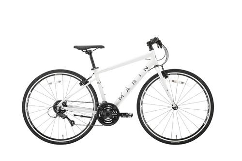 MARIN(マリン) クロスバイク CORTE MADERA SE ( コルトマデラ SE ) グロス ホワイト 15/XS