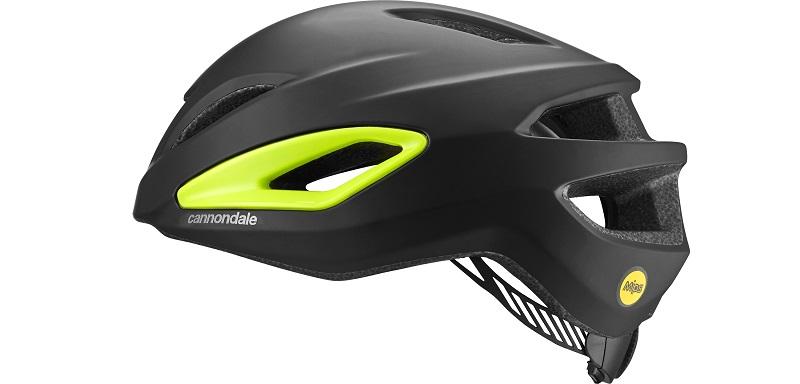 CANNONDALE(キャノンデール) ヘルメット インテイク MIPS ブラック / ボルトイエロー L/XL