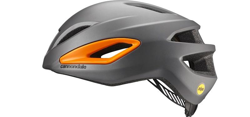 CANNONDALE(キャノンデール) ヘルメット インテイク MIPS グレー / オレンジ L/XL