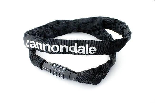 CANNONDALE ( キャノンデール ) 鍵 ネオデビル チェーンロック 110 ブラック / ホワイト