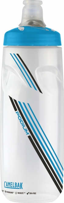 CAMELBAK(キャメルバック)ポディウム クリア/ブルー 21OZ 0.62L