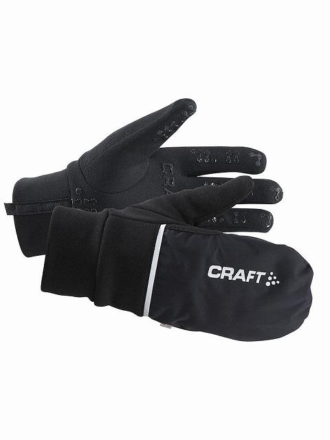 CRAFT(クラフト) HYBRID WEATHER グローブ 9999 ブラック XS