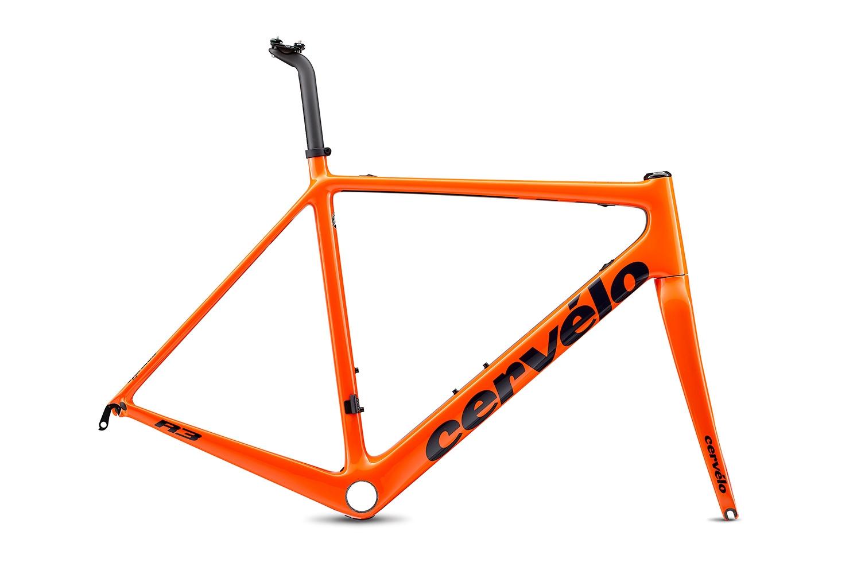 Cervelo ( サーベロ ) ロードフレーム R3 Rim Frameset ( R3 リム フレームセット ) オレンジ / ネイビー 48