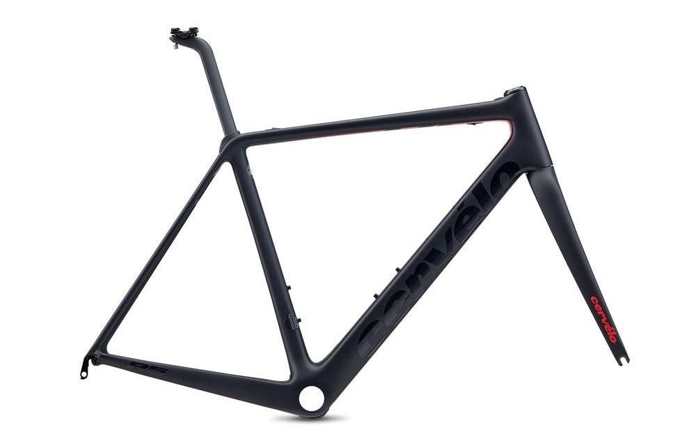 Cervelo ( サーベロ ) ロードフレーム R5 Rim LTD Frameset ( R5 リム リミテッド フレーム セット ) ブラック / ブラック / コーラル 48
