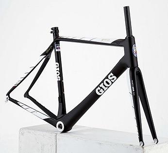 【オンライン限定特価 / 直送可能】 GIOS ( ジオス ) ロードバイク GRESS ( グレス ) フレームセット ブラック 500