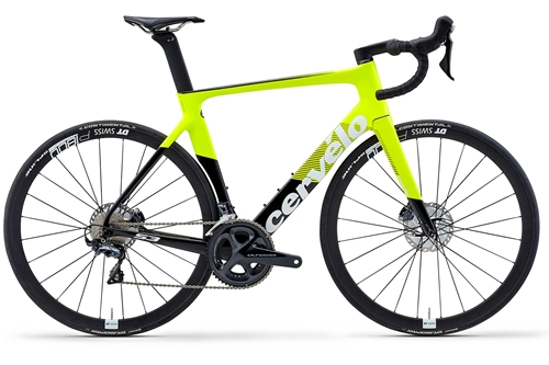 Cervelo ( サーベロ ) ロードバイク S3 Rim Ultegra ( S3 リム アルテグラ ) フルオロ / ブラック / ホワイト 48