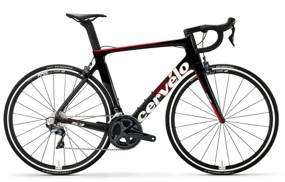 Cervelo ( サーベロ ) ロードバイク S3 Rim Ultegra ( S3 リム アルテグラ ) グラファイト / ブラック / レッド 48