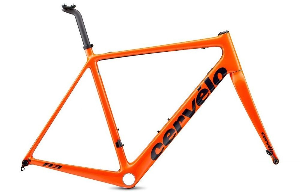Cervelo ( サーベロ ) ロードフレーム R3 Disc Frameset ( R3 ディスク フレームセット ) オレンジ / ネイビー 48