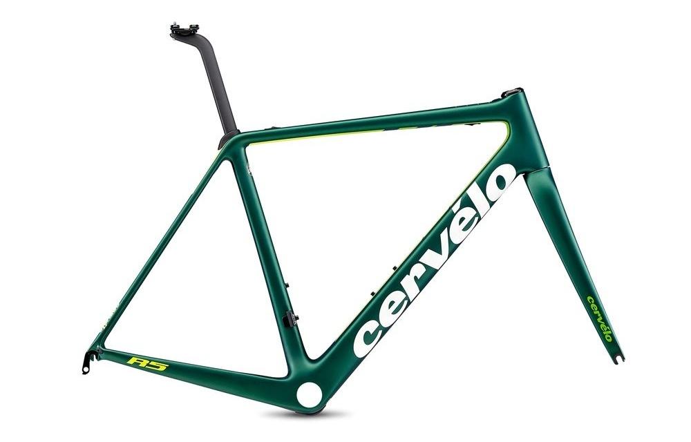Cervelo ( サーベロ ) ロードフレーム R5 Rim LTD Frameset ( R5 リム リミテッド フレーム セット ) エメラルド / グリーン / フルオロ 48