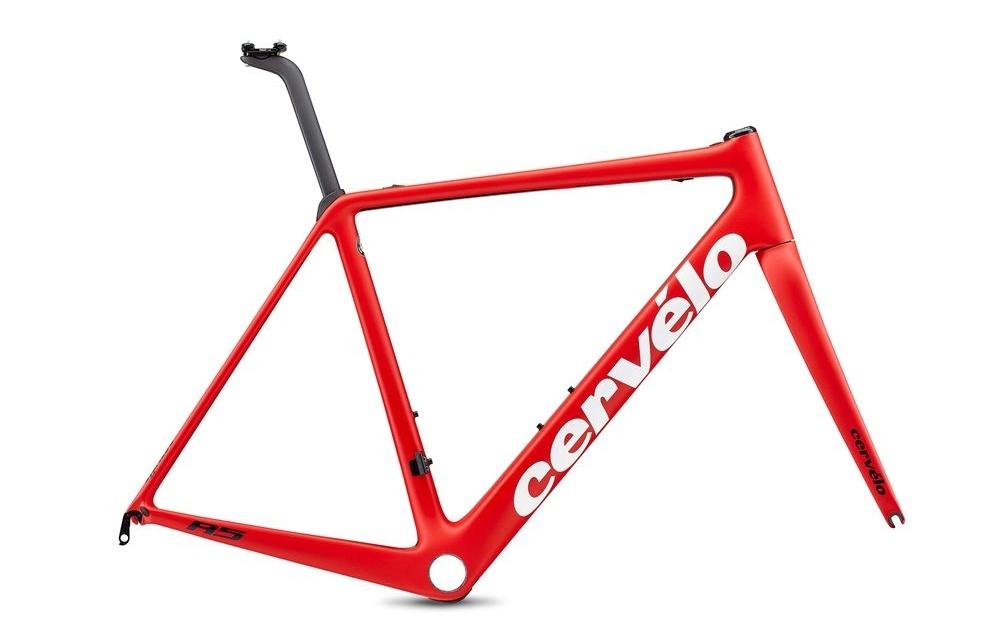 Cervelo ( サーベロ ) ロードフレーム R5 Rim LTD Frameset ( R5 リム リミテッド フレーム セット ) レッド / ホワイト / ネイビー 48