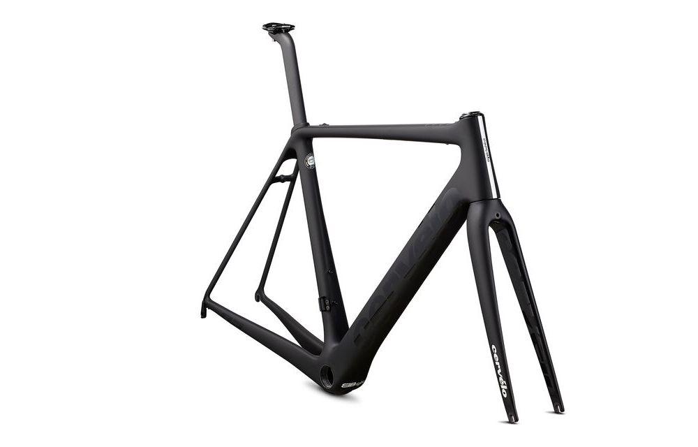 Cervelo ( サーベロ ) ロードフレーム R5 Rim LTD Frameset ( R5 リム リミテッド フレーム セット ) ブラック / ブラック / ホワイト 48