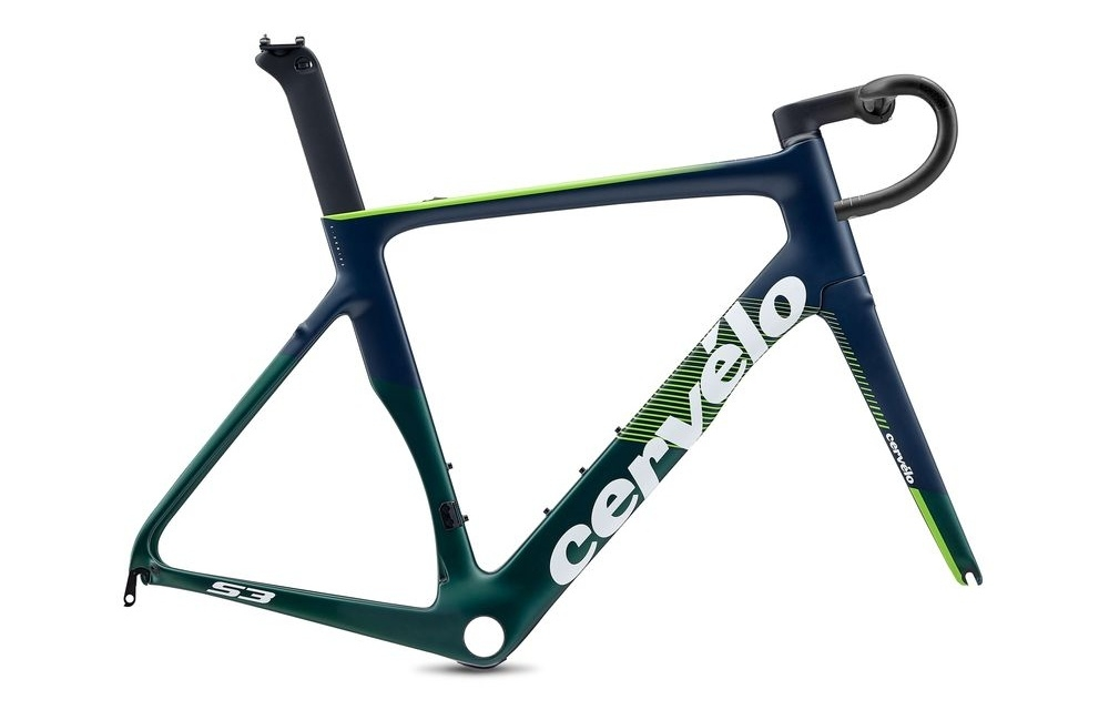 Cervelo ( サーベロ ) ロードフレーム S3 Rim LTD Frameset ( S3 リム リミテッド フレームセット ) エメラルド / ネイビー / ブラック 48