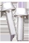BENEFIT(ベネフィット) アルミボルト 4本パック シルバー M5X16mm