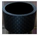 BENEFIT(ベネフィット) ヘッドスペーサー カーボンスペーサー 3Kマット 20mm