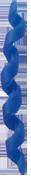 BENEFIT ( ベネフィット ) フレームプロテクター ( スパイラル ) ブルー
