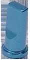BENEFIT(ベネフィット) VC02 アルミ バルブキャップ 2個パック スカイブルー