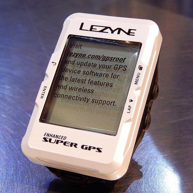 LEZYNE(レザイン) SUPER GPS LIMITED ホワイト