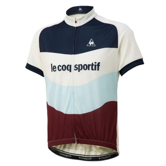 Le coq sportif ( ルコックスポルティフ ) 半袖ジャージ QCMNGA47 エッセンシャルジャージ ルーズフィット フォーブラン M