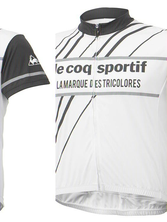 Le coq sportif ( ルコックスポルティフ ) 半袖ジャージ QCMNGA49 ハンソデジャージ ホワイト S