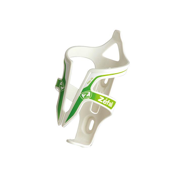 ZEFAL ( ゼファール ) PULSE FIBER GLASS ボトルケージ ホワイト/グリーン