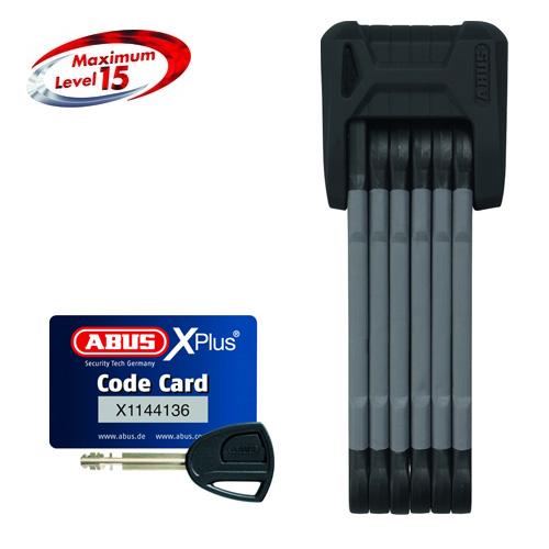 ABUS(アブス)BORDO GRANIT X-PLUS 6500 ブラック