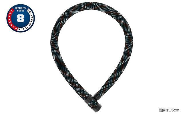 ABUS(アブス) IVERA CHAIN 7210 チェーンロック 110cm クロッシンググレー