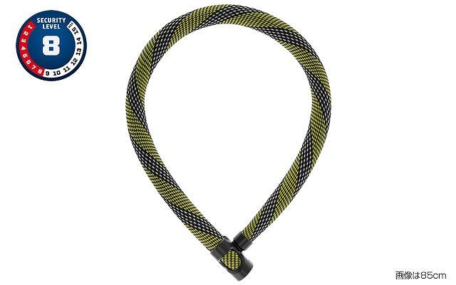 ABUS(アブス) IVERA CHAIN 7210 チェーンロック 110cm レーシングイエロー