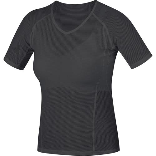 GORE WEAR ( ゴアウェア ) M WOMEN ベース レイヤー シャツ ブラック XS ( EUサイズ )