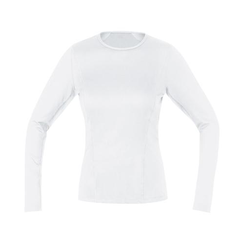 GORE WEAR ( ゴアウェア ) M WOMEN ベース レイヤー ロング スリーブ シャツ ホワイト XS ( EUサイズ )