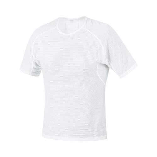 GORE WEAR ( ゴアウェア ) M ベース レイヤー シャツ ホワイト S ( EUサイズ )