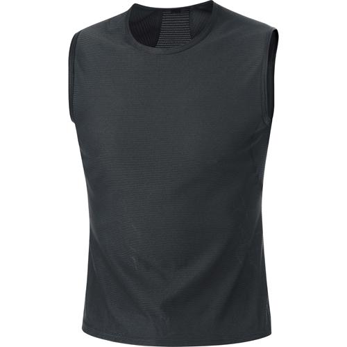 GORE WEAR(ゴアウェア)M ベース レイヤー スリーブレス シャツ ブラック M