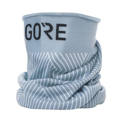 GORE WEAR(ゴアウェア) M ネック ウォーマー ライトグレイ / ホワイト ONE