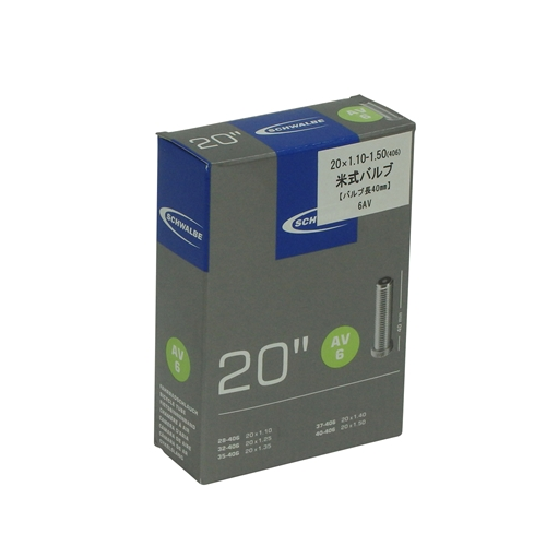 SCHWALBE(シュワルベ)6AV ハコ 20x1.10/1.50(406)