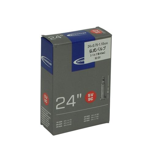 SCHWALBE(シュワルベ)TUBE 24 X 0.75/1.10(520)