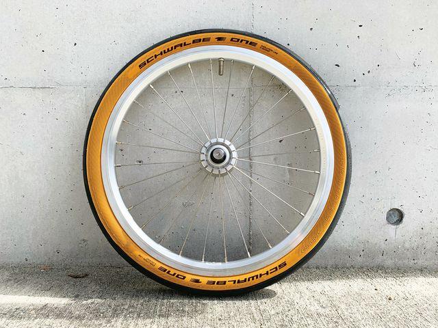 【先行予約販売 / 5月頃出荷予定】 SCHWALBE(シュワルベ) タイヤ ONE( ワン ) クラシックスキン 16x1.35【35-349】