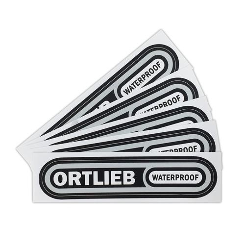 ORTLIEB ロゴステッカーS 5枚セット