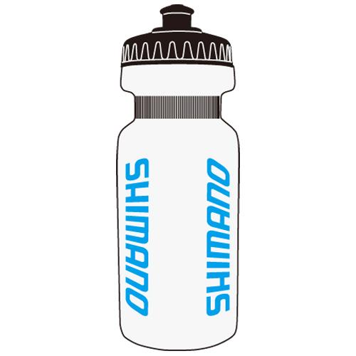 SHIMANO(シマノ)ドリンクボトル クリア/ブルーロゴ 500ML