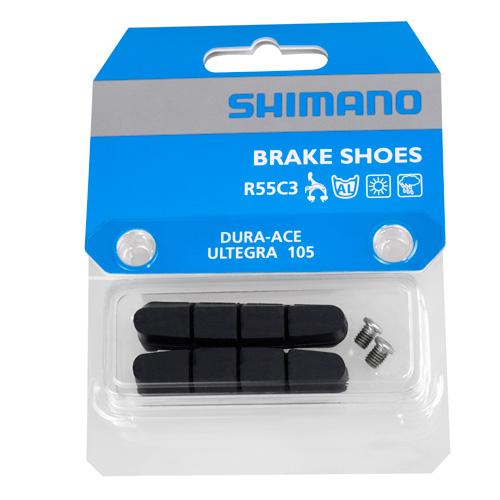 SHIMANO(シマノ)R55C3(BR-7900)ブレーキシュー&固定ネジ(ペア)