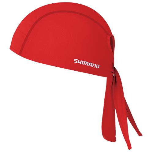 SHIMANO(シマノ)バンダナ レッド ワンサイズ
