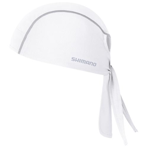 SHIMANO(シマノ)バンダナ ホワイト ワンサイズ