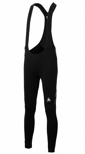 Le coq sportif(ルコックスポルティフ)起毛ビブロングパンツ ブラック S