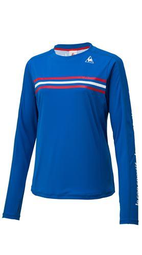 LE COQ トリコロールロングスリーブシャツ